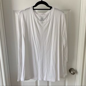 Westbound white long sleeve shirt